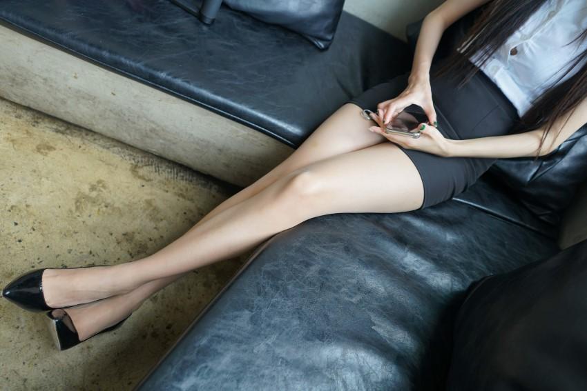 [MussGirl]慕丝女郎 No.026 双双 极致薄丝长腿足底