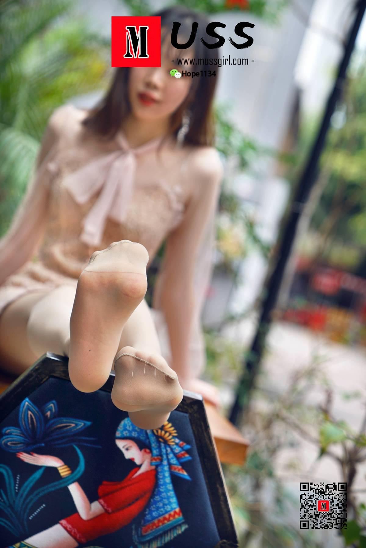 [MussGirl]慕丝女郎 No.035 女神的腿从来不是天生的
