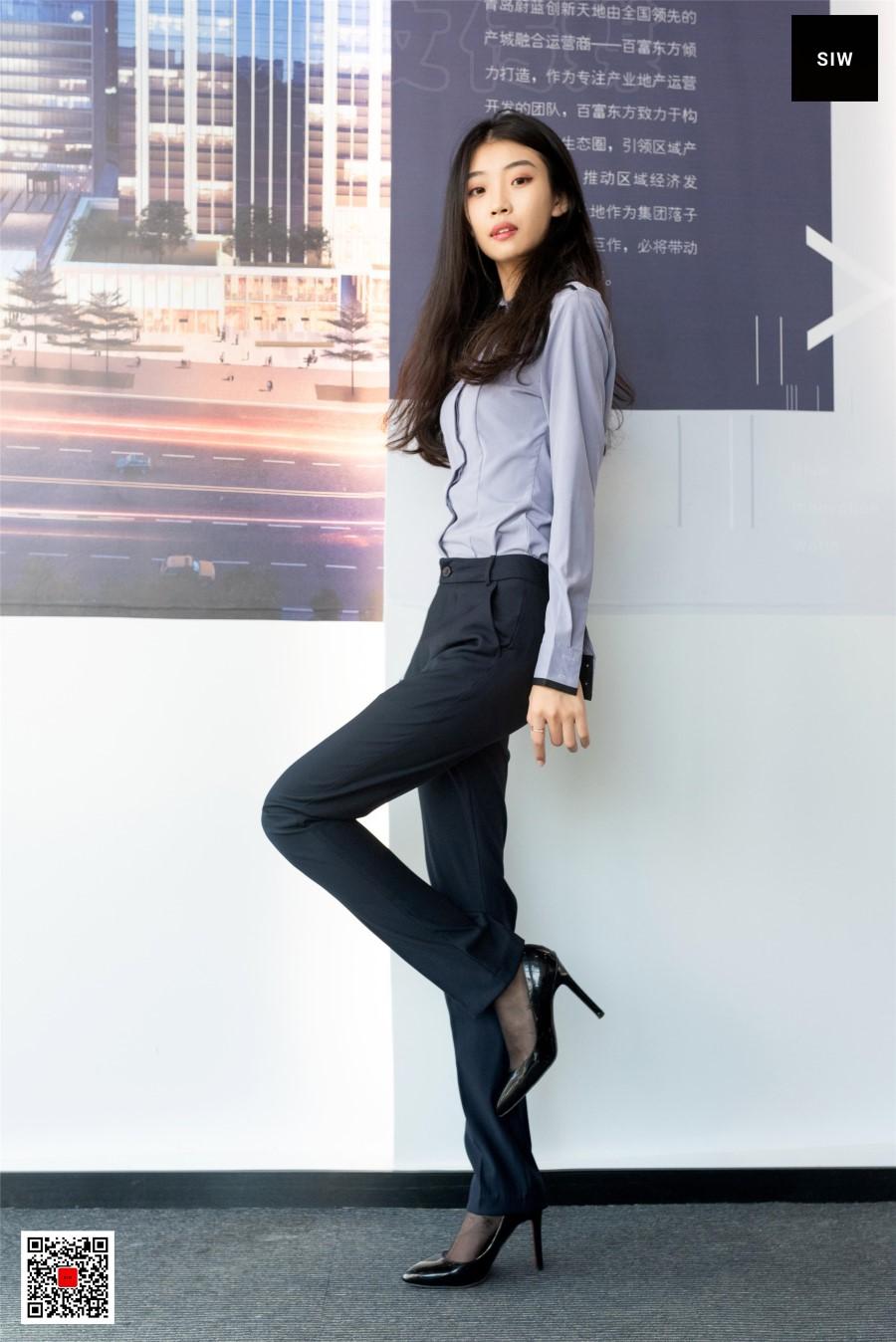 [SIW斯文传媒]VOL.083 蓉儿 女总裁职业白领制服衬衣长裤工装