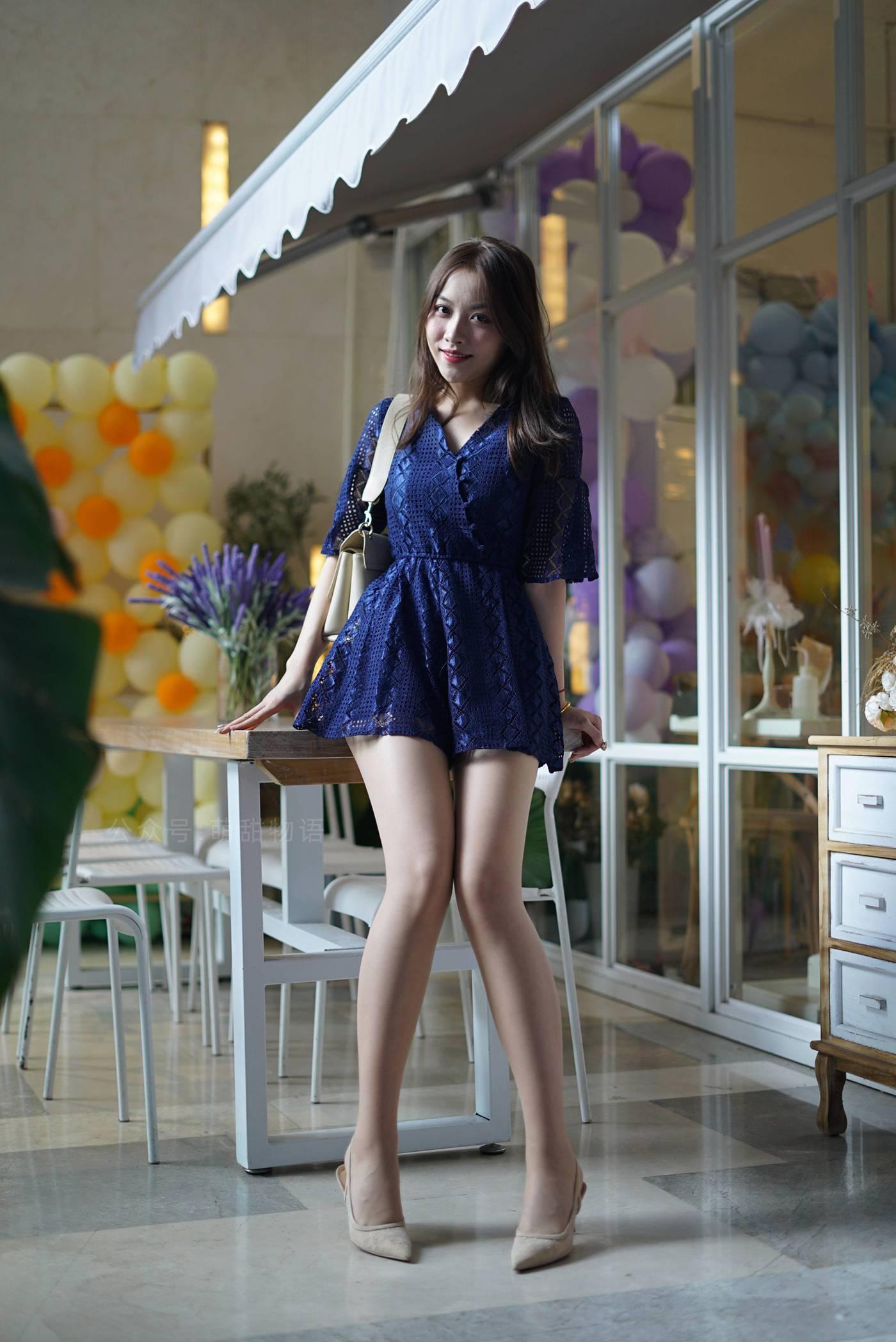 [萌甜物语]XM108《令人欣怡的蓝裙子-欣怡》[64P]